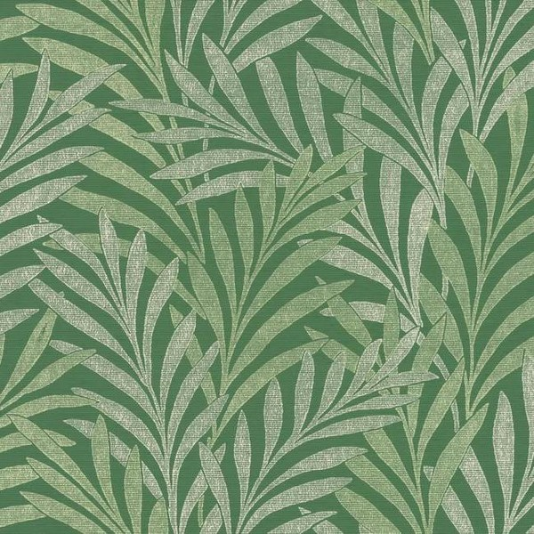 Hc7501 Wallpaper Green Tea Leaves Wallpaper