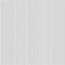 Grey Linen Strie Wallpaper