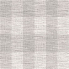 Grey Rugby Gingham Check Plaid Wallpaper