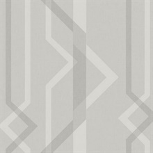 Grey Shape Shifter Geometric Wallpaper