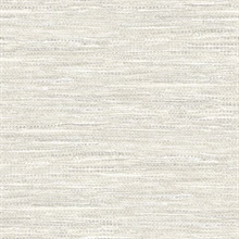 Grey & Silver Commercial Weave Wallpaper
