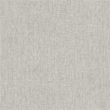 Grey Threaded Silk Wallpaper