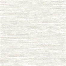 Grey & White Commercial Weave Wallpaper