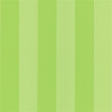 Groove Green Stripes Wallpaper