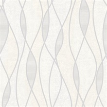 Gyro Light Grey Swirl Geometric