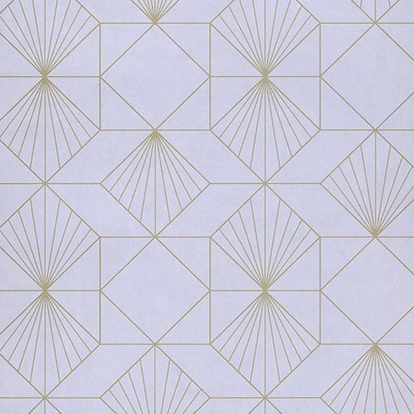 366070 Halcyon Lilac Geometric Wallpaper Wallpaper