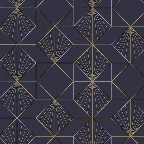 366072 Halcyon Plum Geometric Wallpaper Wallpaper