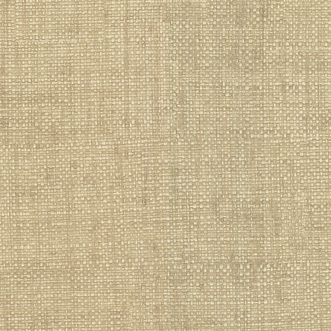 415 87917 Hamptons Beige Faux Grasscloth Wallpaper