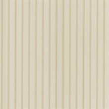 Harry Beige Pinstripe Wallpaper