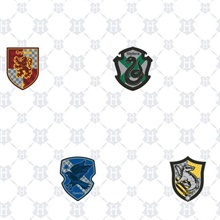 Harry Potter House Crest Wallpaper