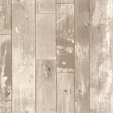 Heim Grey Distressed Wood Panel