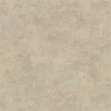Hereford Brass Faux Plaster Vinyl Wallpaper