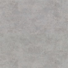 Hereford Grey Faux Plaster Vinyl Wallpaper