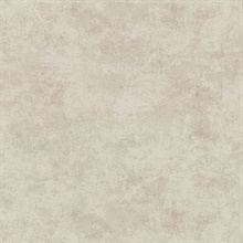 Hereford Taupe Faux Plaster Vinyl Wallpaper