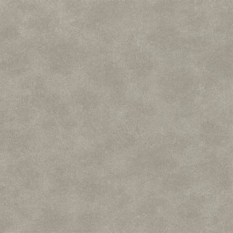 Holstein Grey Faux Leather Wallpaper