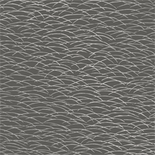 Hono Charcoal & Silver Abstract Wave Wallpaper