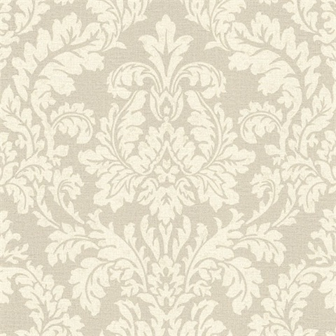 Honor Beige Damask