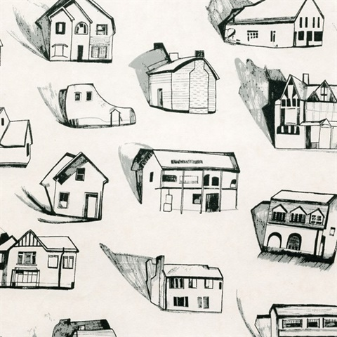 Houses black/grey/cream