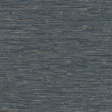 Hutton Dark Blue Tile Textured Wallpaper