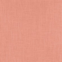 Indie Faux Textured Linen Pink Wallpaper