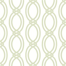 Infinity Light Green Geometric Stripe