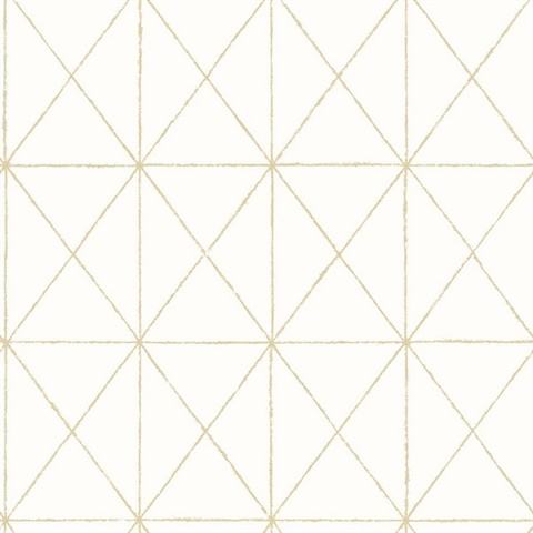 Intersection Gold Geometric Wallpaper 2697 78002
