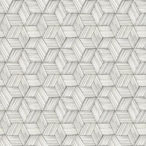 Intertwined Grey Geometric Wallpaper Ps41400 Modern