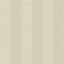 Intrepid Champagne Faux Grasscloth Vertical Stripe Wallpaper