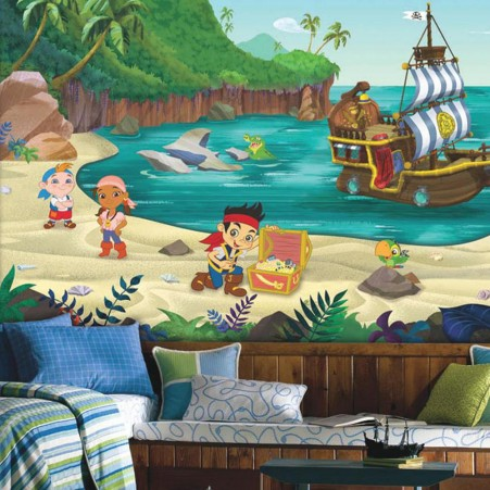 Jake and the Never Land Pirates XL Wallpaper Mural