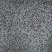 Jamilah Slate Damask Wallpaper