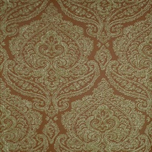 Jamilah Tawny Damask Wallpaper