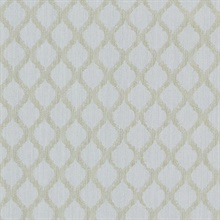 Jasper Light Grey Fretwork Trellis