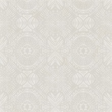 Java Light Grey Medallion