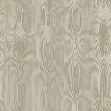 Jaxson Light Brown Faux Wood Wallpaper