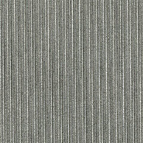 Jayne Grey Vertical Shimmer Wallpaper