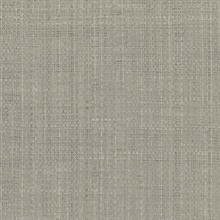 Jonus GreyFaux Grasscloth Wallpaper
