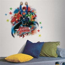 Justice League Giant Wall Decal