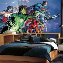 Justice League XL Wallpaper Mural 10.5' X 6'