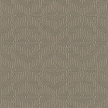 Kairo Brown Geometric Wallpaper