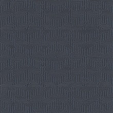 Kairo Dark Blue Geometric Wallpaper