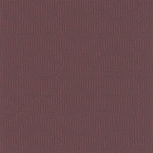 Kairo Maroon Geometric Wallpaper