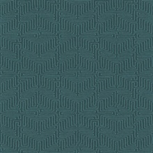Kairo Teal Geometric Wallpaper