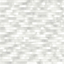 Kalmar Grey Hazy Stripe Wallpaper
