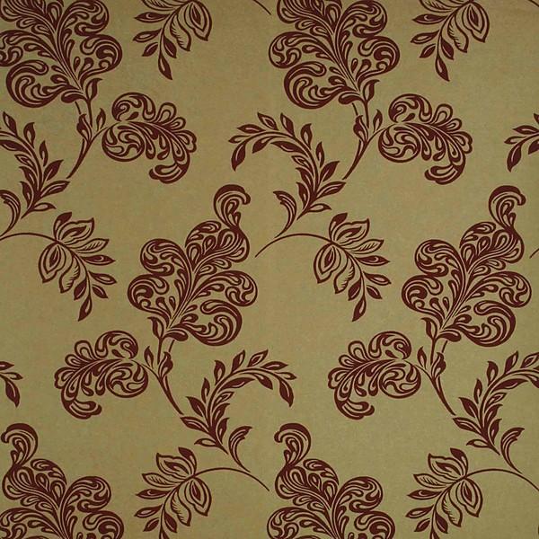 Karimah Gold Jacobean Wallpaper