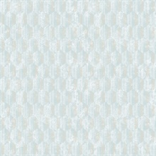 Kendall Light Blue Geometric Wallpaper