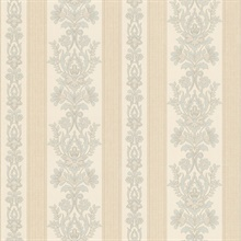 Kensington Light Blue Damask Stripe