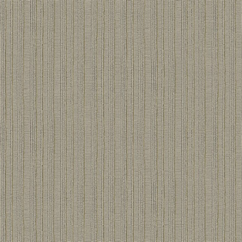 Kinsley Coffee Textured Stripe Wallpaper