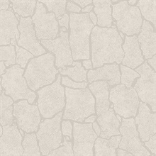 Kordofan Bone Faux Giraffe Animal Skin Wallpaper