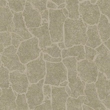 Kordofan Bronze Faux Giraffe Animal Skin Wallpaper