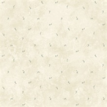 Lafayette Grey Floral Toss Wallpaper